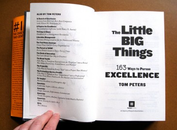 The Little Big Things by Tom Peters