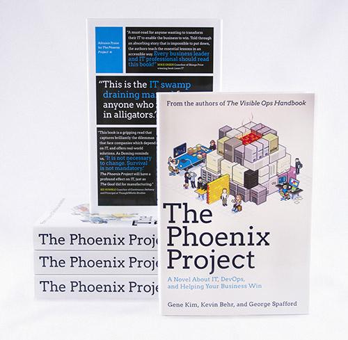 The Phoenix Project book jacket
