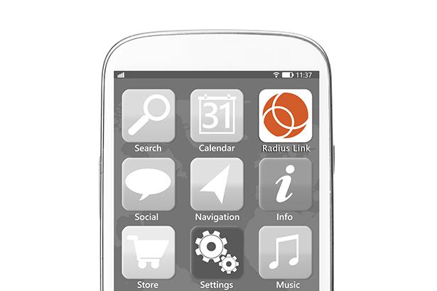 Radius Link app icon