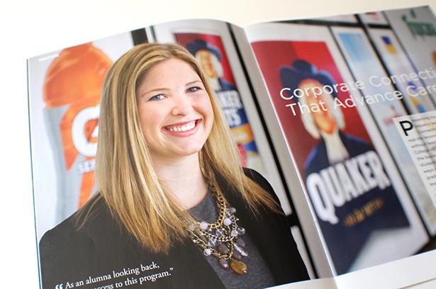 DePaul Unviersity Business Exchange magazine